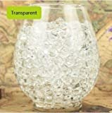 jelly beads vase - LOVOUS 3000 Pcs Water Beads, Crystal Soil Water Bead Gel, Wedding Decoration Vase Filler - Furniture Decorative Vase Filler, All Occasion Table Centerpiece Decorations (Transparent)