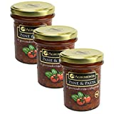 amy freeze - Agromonte Authentic Italian Cherry Tomato Pane and Pasta Original Certified Kosher 7.48 oz 3 pack