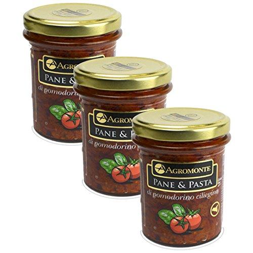 Agromonte Authentic Italian Cherry Tomato Pane and Pasta Original Certified Kosher 7.48 oz 3 - Bello Monte
