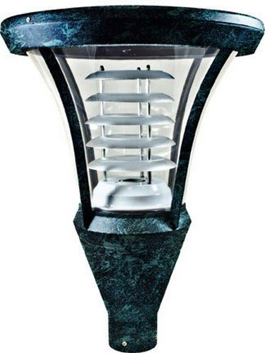 Dabmar Lighting GM640-LED30-VG Powder Coated Cast Aluminum Post Top Light Fixture, Bronze by Dabmar Lighting (Image #1)