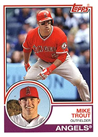 Amazoncom 2015 Topps Archives Baseball Card 250 Mike