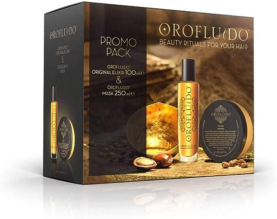Revlon oro fluido pack (mask + elixir): Amazon.es: Belleza