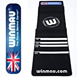 Winmau Soft Feel Quality Professional Dart Mat - Perfect for Home Use by Winmau