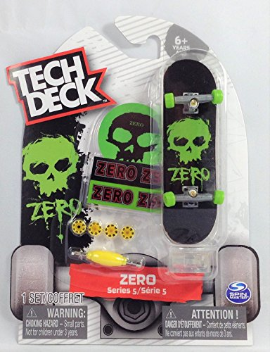 Tech Deck ZERO Series 5 Green Skull #20086591