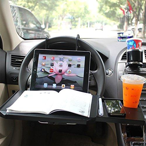 Car Computer Desk, Multifunctional Car Computer Desk Rack...