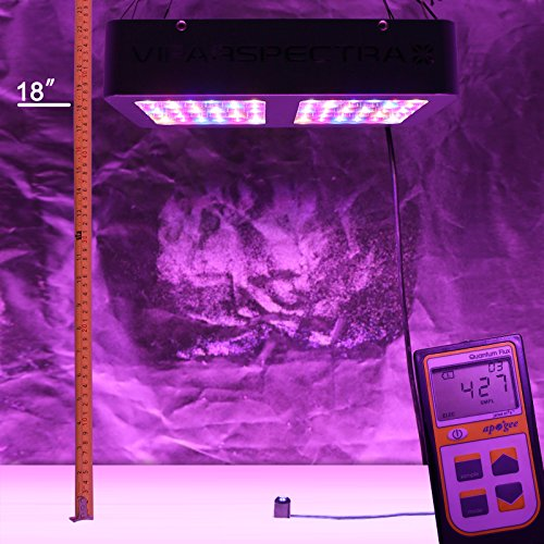 VIPARSPECTRA Reflector-Series 300W LED Grow Light Full Spectrum for Indoor Plants Veg...