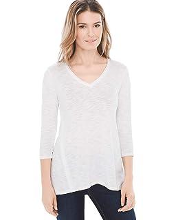 38889dc32d Amazon.com  Chico s Women s Zenergy Short Sleeve Tee Shirt  Clothing
