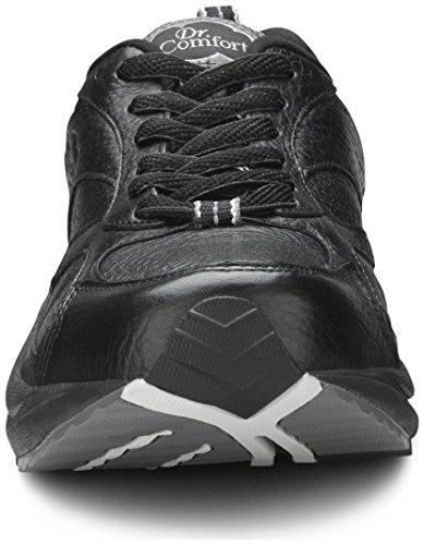 Dr. Comfort Winner Plus Men's Therapeutic Diabetic Extra Depth Shoe: Black 11 X-Wide (3E/4E) Lace by Dr. Comfort (Image #6)