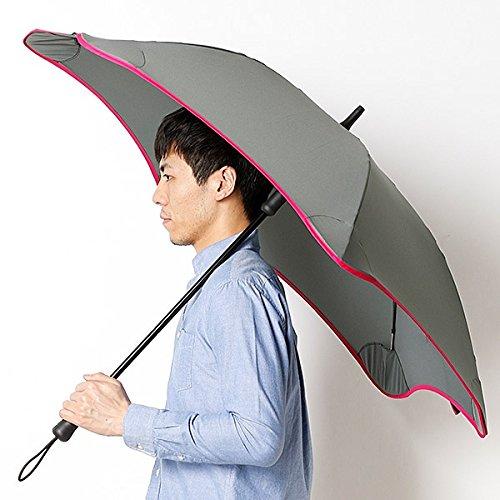 ブラント(BLUNT) 【空気力学による風に強い構造6色展開】長傘(メンズ雨傘) B071WXWMZ3 65|32ロズピンク 32ロズピンク 65