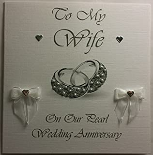 Happy Pearl Wedding Anniversary To My Wife