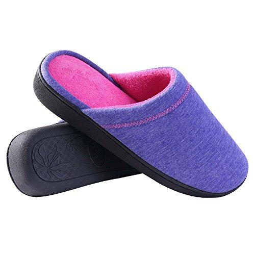 JUDY femme Bleu violet Chaussons pour rBq6zRr
