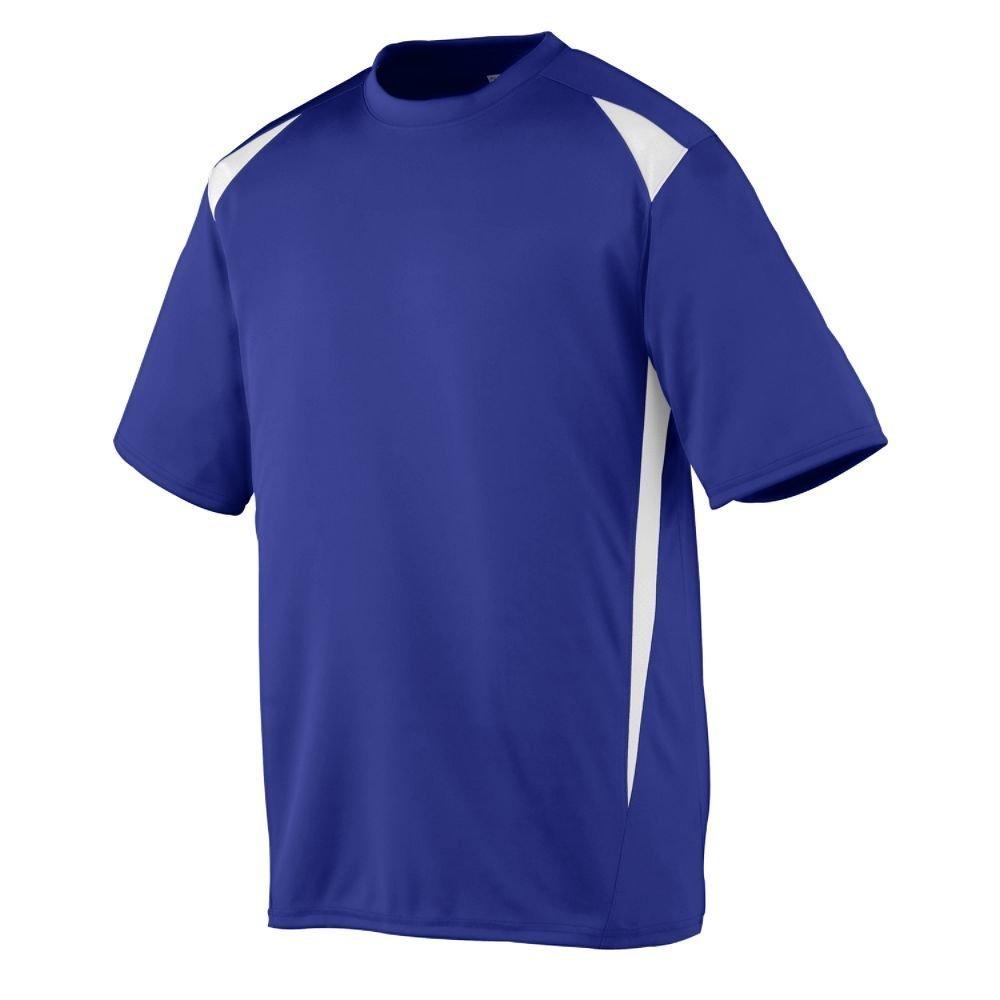 Augusta Sportswearメンズプレミアクルー B00E1YTT44 xx-large パープル/ホワイト パープル/ホワイト xx-large