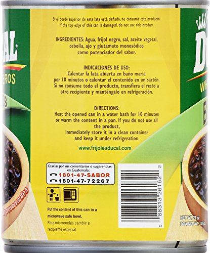 Ducal Whole Black Beans, 29 Ounce (Pack of 12) by Ducal (Image #1)