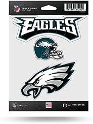 NFL Philadelphia Eagles Die Cut 3-Piece Triple Spirit Sticker Sheet