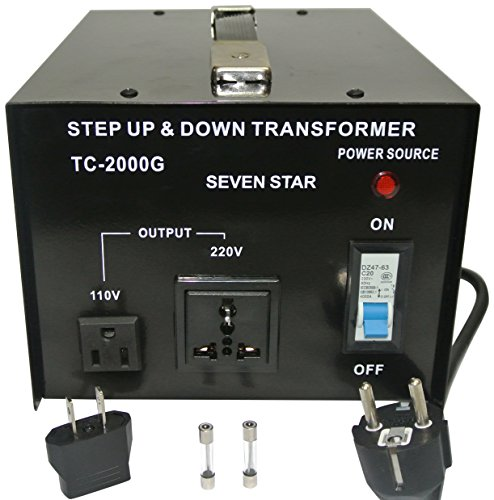 Price comparison product image SEVENSTAR tc 2000 Watt Voltage Transformer