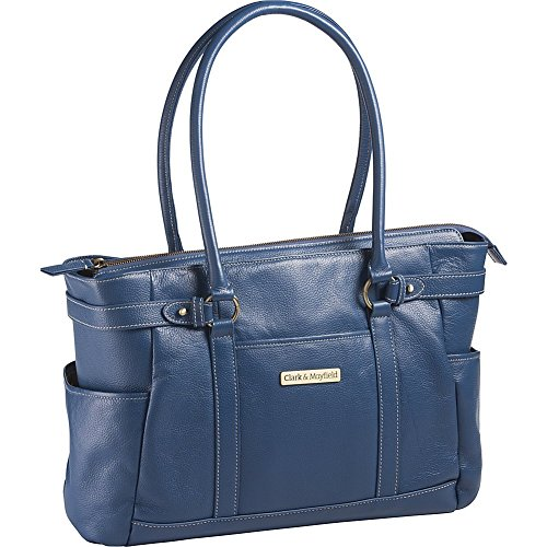 clark-mayfield-hawthorne-leather-173-laptop-handbag-computer-tote-bag-in-blue