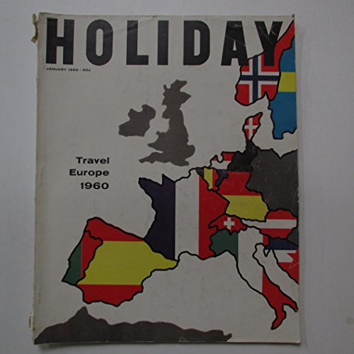Holiday Magazine 1960 January Vol.28 - January 28 Holiday