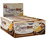 Best Protein Bars - Quest Nutrition Protein Bar, S'mores, 720 Oz Review