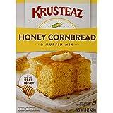 Krusteaz Cornbread and Muffin Mix, Honey, 15-Ounces
