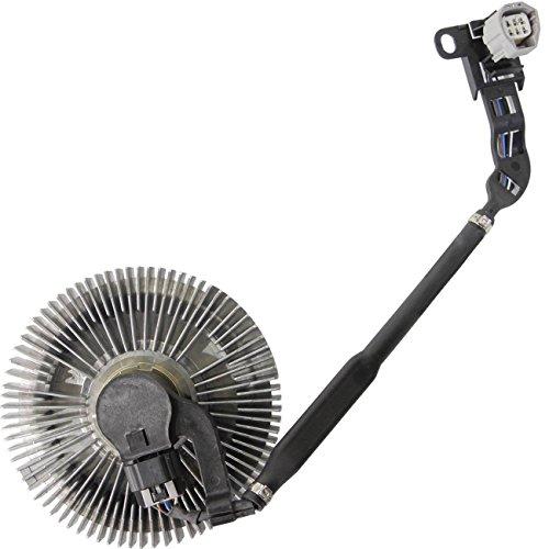 TOPAZ 3291 Electric Cooling Fan Clutch for Ram Dodge 2500 3500 Cummins Diesel 6.7L 10-13 (Best Clutch For 6.7 Cummins)