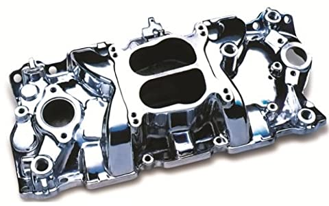 Professional Products 52008 Cyclone (EGR) Polished Manifold for Small Block Chevy - V8 4bbl Carburetor