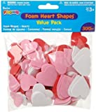 Foamies 300 Piece Value Pack Shapes - Hearts (3-Pack)