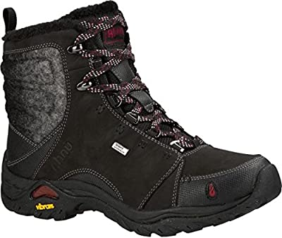 Ahnu Women's Montara Boot Luxe WP Insulated Black