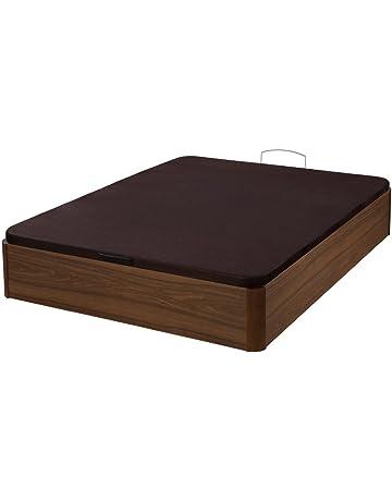 Santino Canapé Wooden Gran Capacidad Nogal con Montaje a Domicilio Gratis - Varias Medidas Disponible