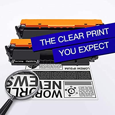 Black M130FW 17A M130FN Works with: Laserjet Pro M102w M130NW- Jumbo Toner- 56/% More Yield! 3-Pack QSD Compatible Toner Replacement for HP CF217A Free 1 to 2 Day DELIVERY