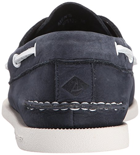 Sperry Top-Sider Men's A/O 2-Eye Washable Boat Shoes Navy 4JWKT