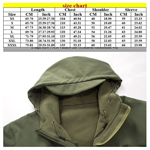 Zhuhaitf Shark Men's Skin Black Waterproof Outdoor Jacket Sunscreen Bello Hooded SHcrwS6q