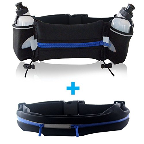 Running Hydration Pack with 2 Water Bottles PLUS Fanny Pack For Sale