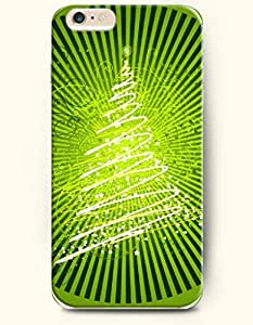 OFFIT iPhone 6 Plus Case 5.5 Inches Sparkling Christmas Tree