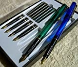 Deluxe 20 Pc Master Calligraphy Pen Set w/ Ink, Storage Case