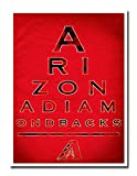 "Arizona Diamondbacks 12x16"" Poster Print Wall Art Décor"