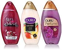 Duru 3 Piece Shower Gel Variety Pack, Ruby/Mango Ice Cream/Orchid