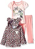 Apparel : Disney Baby Girls' Minnie Mouse 3 Piece Bodysuit OR T-Shirt, Hoodie, Pant Set