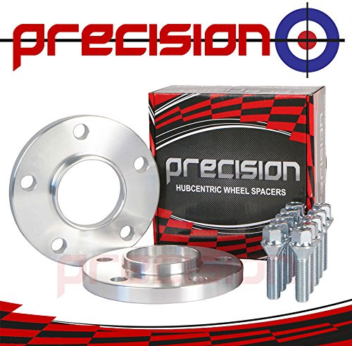 15mm Hubcentric Spacers 1 Pair + Bolts for ƁMW 3 Series Alloy Wheels Part No. 2PHS4+10BM1740116 Precision