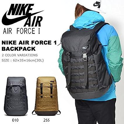 ... Amazon.com Nike Unisex Sportswear AF1 Backpack AF-1 Bag Laptop Sleeve  Gym Black ... e96afd17f9540