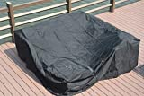 Direct Wicker Large Patio Furniture Cover Durable Water Resistant Outdoor Furniture Sets Cover, 106.3x106.3x27.6inches