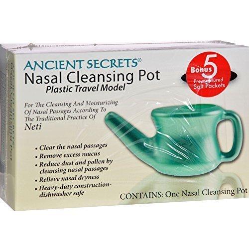 ANCIENT SECRETS NASAL CLEANSING POT,TRVL, 1 POT