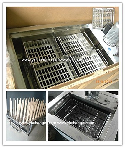 40pieces Stainless Steel Ice Cream Molds ice pop molds with stick holder Food Class 6 different size for you to select by Ykchanger (Image #8)