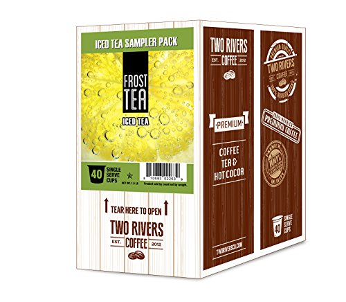 Frost Coffee (Frost Tea Single-Cup Iced Tea Variety Pack for Keurig K-Cup Brewers , 40 Count)