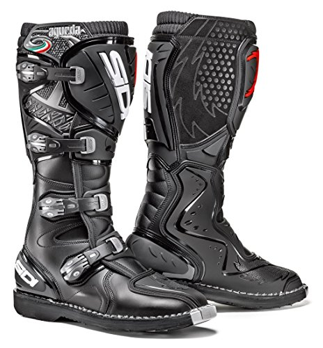 (Sidi Agueda Off Road Motorcycle Boots Black US13/EU48 (More Size Options))