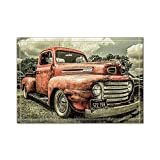 NYMB Custom The Old Truck Car Bath Rugs Non-Slip Floor Entryways Outdoor Indoor Front Door Mat 60x40cm Bath Mat Bathroom Rugs (Multi6)