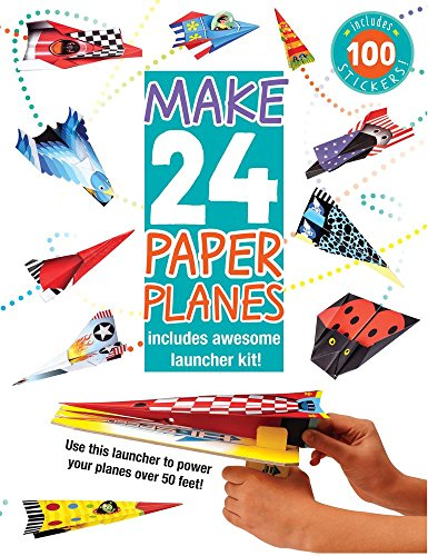 - Make 24 Paper Planes: Includes Awesome Launcher Kit!