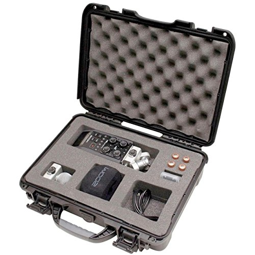 (Gator Cases Titan Series Water Proof Injection Molded Equipment Case with Diced Foam Insert; 13.2