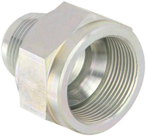 Eaton Aeroquip 221501-20-16S Reducer, Female 37 Degree JIC, JIC 37 Degree End Types, Carbon Steel, 1-1/4 JIC(f) x 1 JIC(m) End Size, NULL Tube OD by Aeroquip