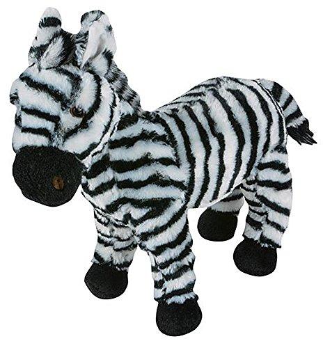 Plush Stuffed Zebra - Wildlife Tree 11