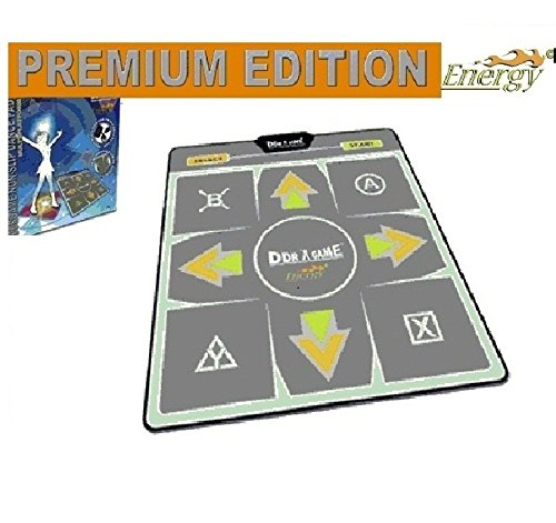 Dance Dance Revolution Multi-Platform Super Sensors Energy Non-Slip Dance Pad (PS, PS2, Xbox, PC, Mac)